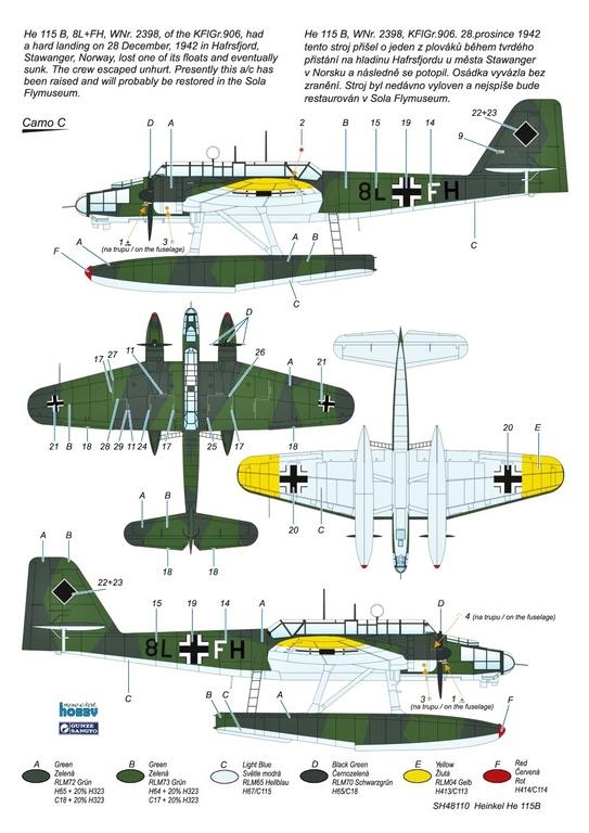 Special-Hobby-SH-48110-Heinkel-He-115-B-2-71 Heinkel He-115B von Special Hobby in 1:48 #48110