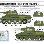 Zvezda-3686-T-34-76-Modell-1942-31-150x150 T-34/76 in 12:35 von Zvezda # 3686