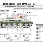 Zvezda-3686-T-34-76-Modell-1942-32-150x150 T-34/76 in 12:35 von Zvezda # 3686