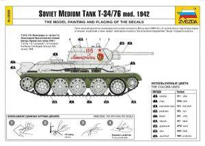 Zvezda-3686-T-34-76-Modell-1942-32-300x213 Zvezda 3686 T-34-76 Modell 1942 (32)