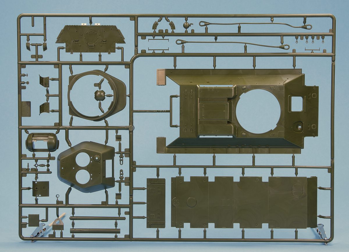 Zvezda-3686-T-34-76-Modell-1942-5 T-34/76 in 12:35 von Zvezda # 3686