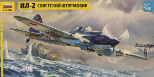 Soviet Attack Aircraft Il-2 in 1:48 von Zvezda #4825