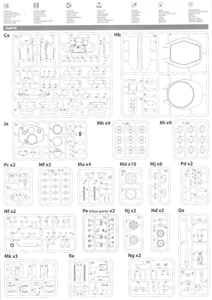 Anleitung03-1 T-34/85 Mod. 1945 Plant 112 1:35 Miniart (#37091)