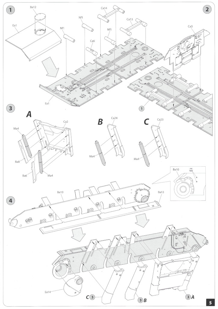 Anleitung04-1 T-34/85 Mod. 1945 Plant 112 1:35 Miniart (#37091)