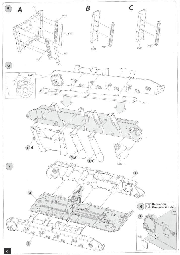 Anleitung05-1 T-34/85 Mod. 1945 Plant 112 1:35 Miniart (#37091)