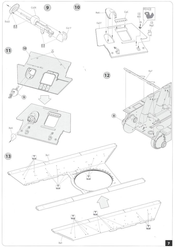 Anleitung06-1 T-34/85 Mod. 1945 Plant 112 1:35 Miniart (#37091)