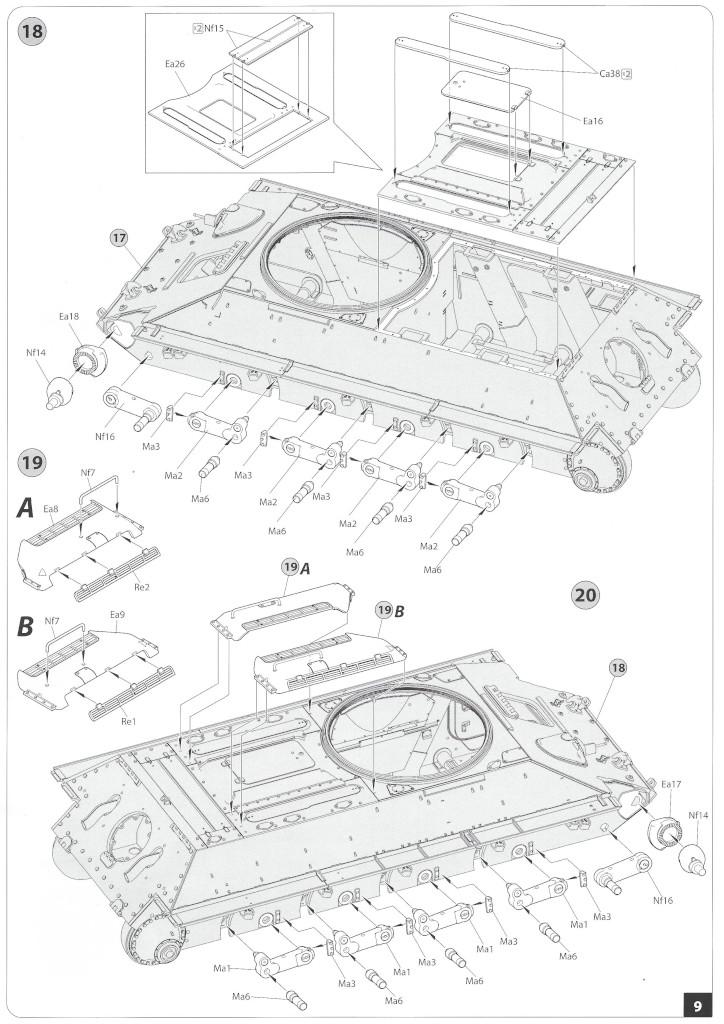 Anleitung08-1 T-34/85 Mod. 1945 Plant 112 1:35 Miniart (#37091)