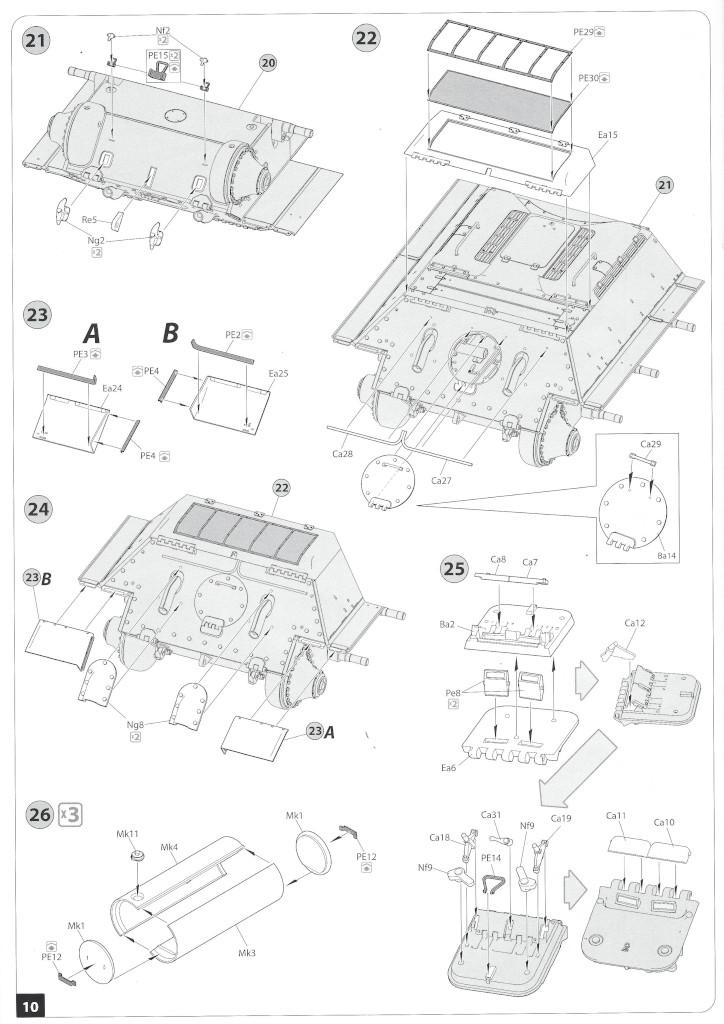 Anleitung09-1 T-34/85 Mod. 1945 Plant 112 1:35 Miniart (#37091)