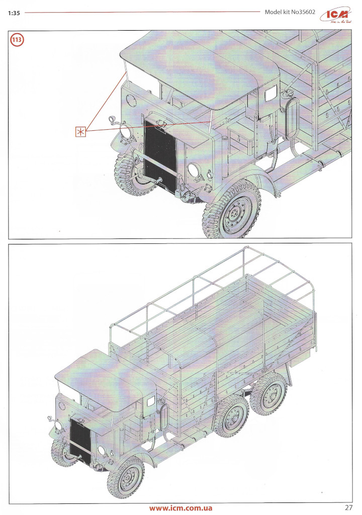 Anleitung27 Leyland Retriever General Service (early production) 1:35 ICM (#35602)