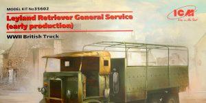 Leyland Retriever General Service (early production) 1:35 ICM (#35602)