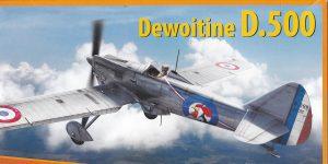 Dewoitine D.500 in 1:32 von DoraWings #DW32001