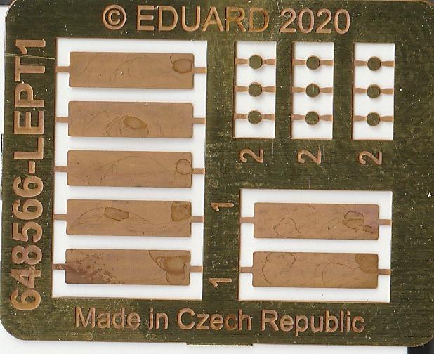 Eduard-648566-und-648567-SUU-20-Dispenser-12 SUU-25 Flare Dispenser und BDU 33 bzw. Mk. 76 Übungsbomben von Eduard in 1:48 #648566 und #648567