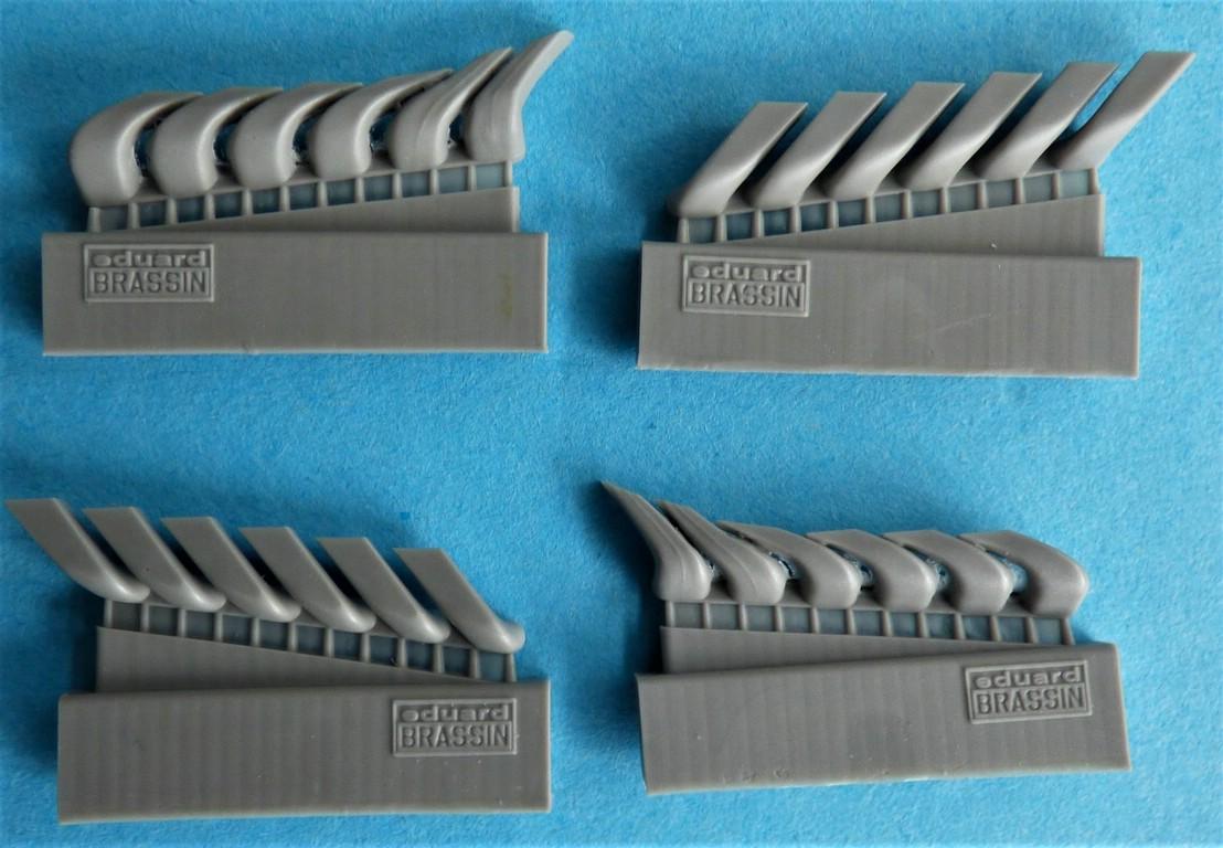 Eduard-648607-Bf-110-C-D-E-exhaust-und-Masken-4 Bf-110 C/D/E Auspuffanlage und Masken von Eduard in 1:48 #648607 und #EX752