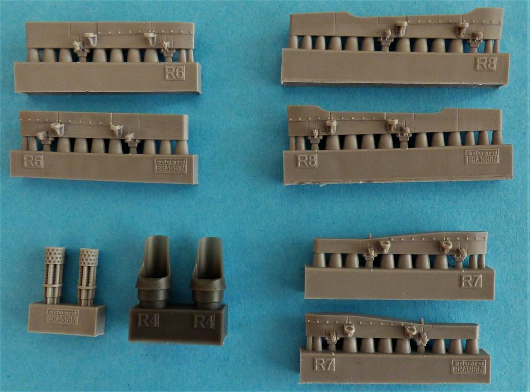 Eduard-648612-SUU-23-gun-pod-7 SUU-23 Gun Pod von Eduard in 1:48 #648612