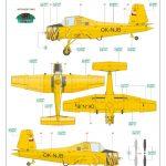 Eduard-7456-Z-37A-Cmelak-WEEKEND-Bauanleitung-10-150x150 Z-37A Cmelak als WEEKEND-Edition in 1:72 von Eduard #7456
