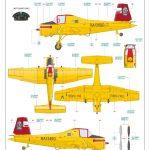 Eduard-7456-Z-37A-Cmelak-WEEKEND-Bauanleitung-11-150x150 Z-37A Cmelak als WEEKEND-Edition in 1:72 von Eduard #7456