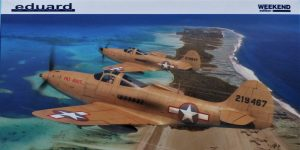 P-39Q Airacobra als Weekend-Edition von Eduard in 1:48 #8470