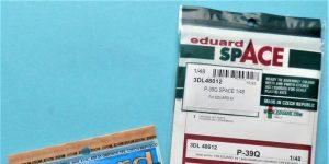 ZOOM- und SPACE von Eduard für die P-39 in 1:48 #FE1158 und #3DL348012