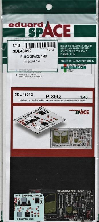 Eduard-P-39-FE-1158-ZOOM-und-3DL48012-SPACE-6 ZOOM- und SPACE von Eduard für die P-39 in 1:48 #FE1158 und #3DL348012