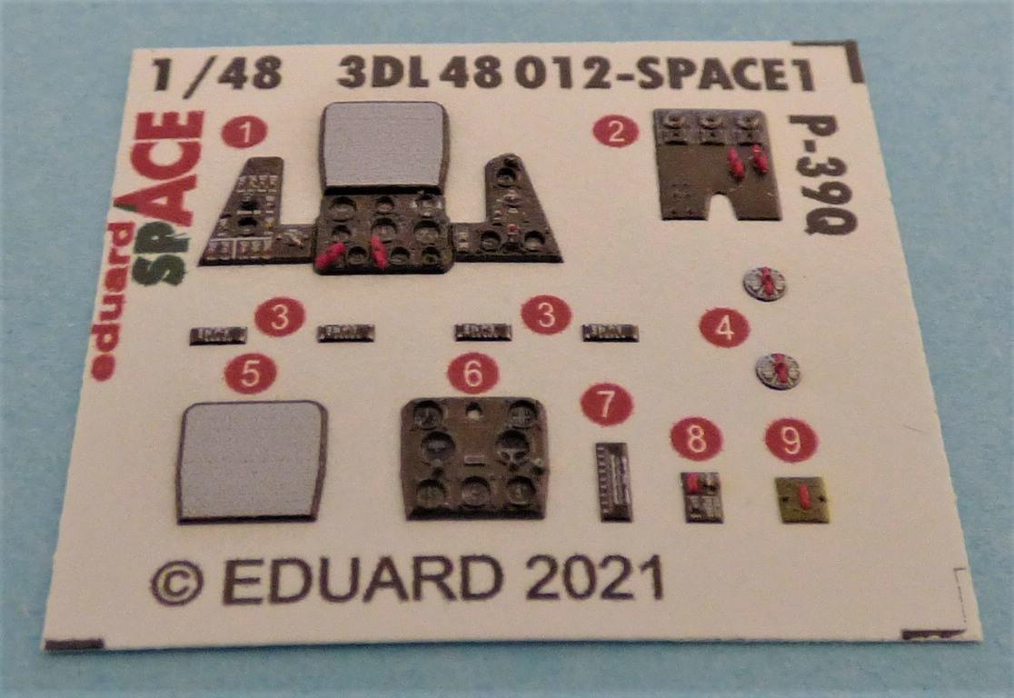 Eduard-P-39-FE-1158-ZOOM-und-3DL48012-SPACE-8 ZOOM- und SPACE von Eduard für die P-39 in 1:48 #FE1158 und #3DL348012