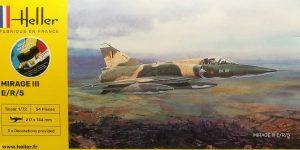 Dassault Mirage III E/R/-5 in 1:72 als Starter-Kit von Heller #80323