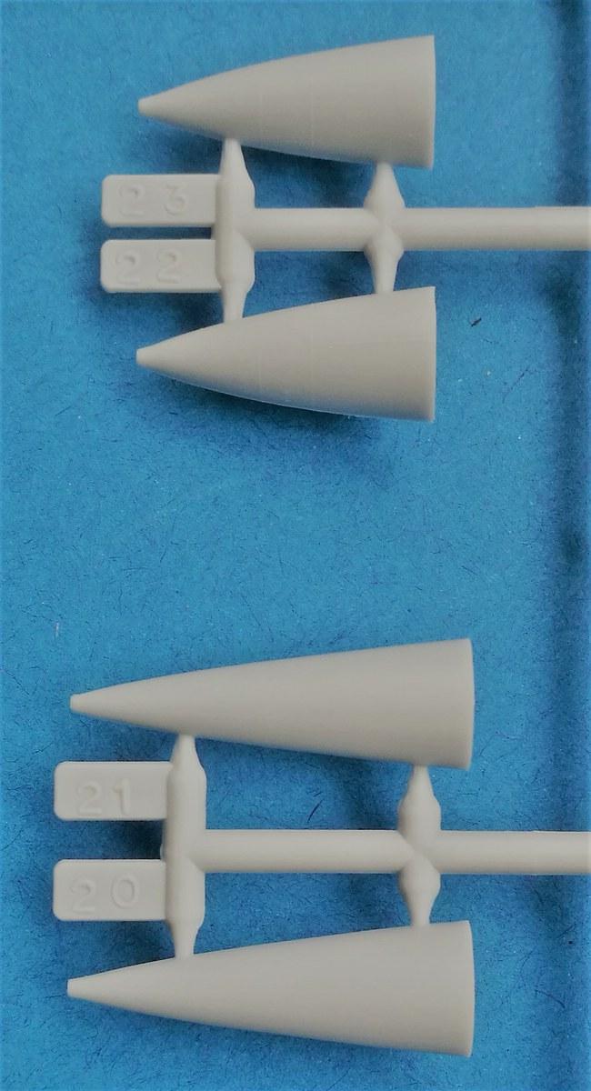HELLER-80323-Dassault-Mirage-III-E-R-5-20 Dassault Mirage III E/R/-5 in 1:72 als Starter-Kit von Heller #80323