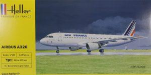 Airbus A 320 in 1:125 von HELLER #56448