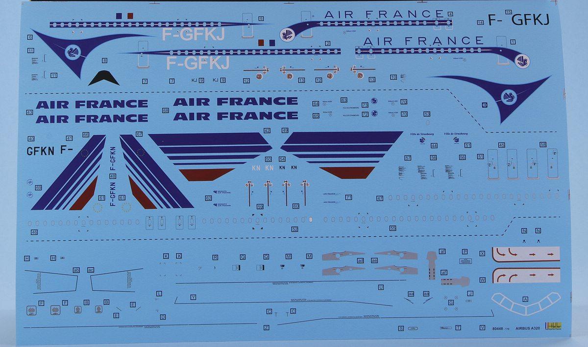Heller-80448-Airbus-A320-15 Airbus A 320 in 1:125 von HELLER #56448