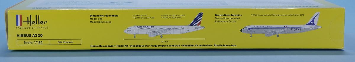 Heller-80448-Airbus-A320-3 Airbus A 320 in 1:125 von HELLER #56448