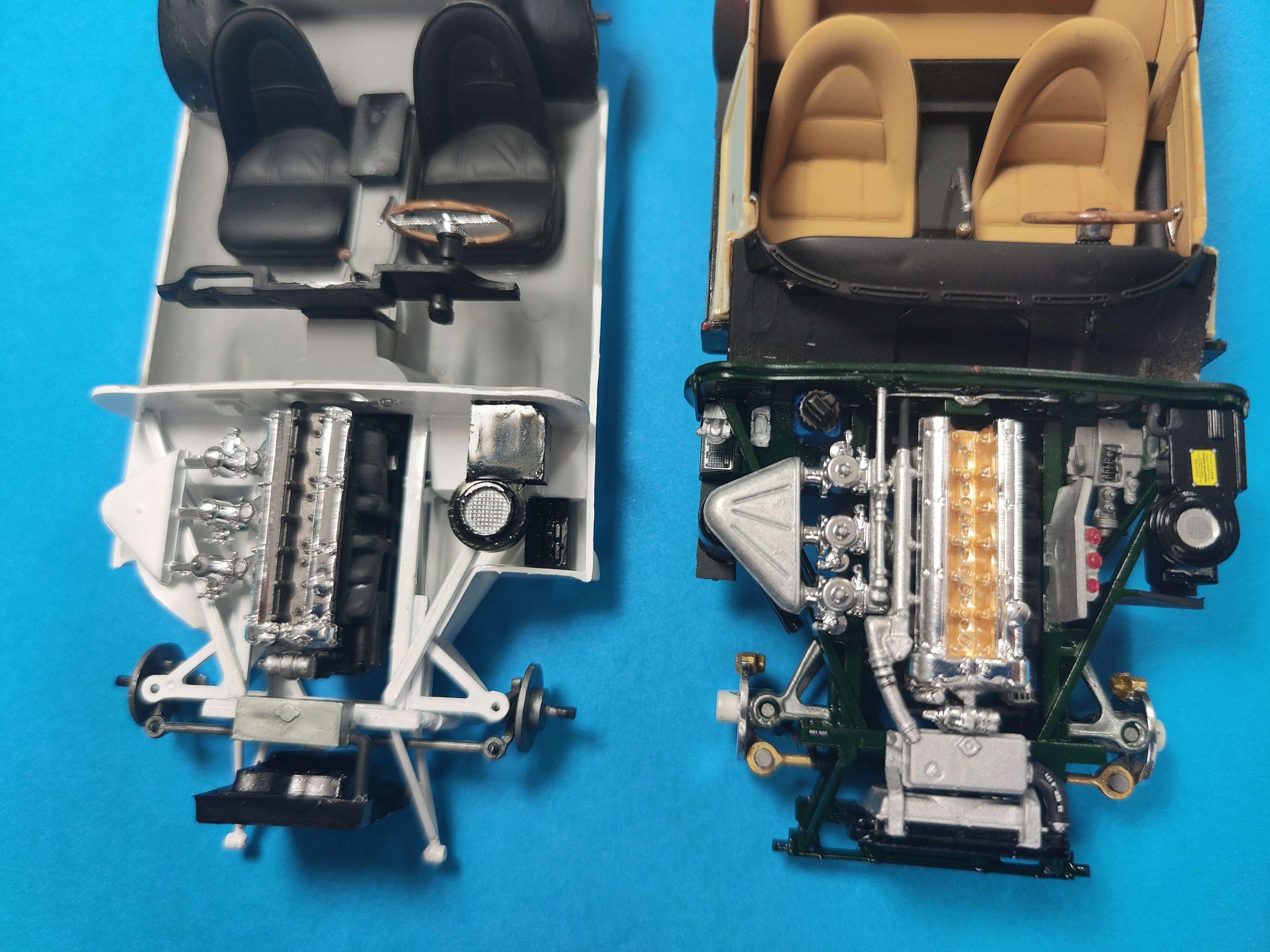 Heller_Mercedes500k05-scaled Jaguar E-Type: Heller oder Revell?