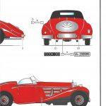 Heller_Mercedes500k07-150x150 Mercedes 500K Special Roadster in 1:24 von Heller