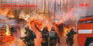 Soviet Firemen1980s in 1:35 von ICM # 35623