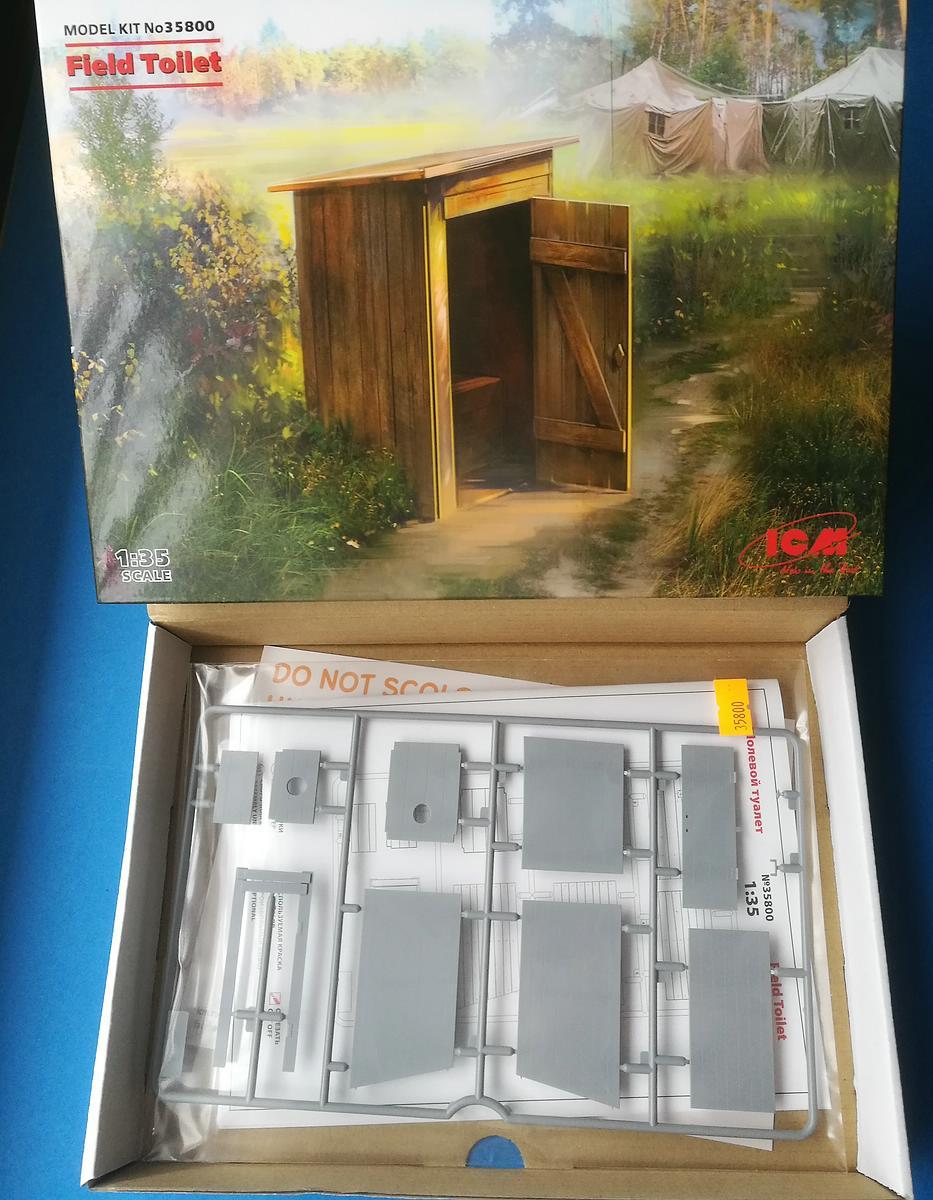 ICM-35800-Field-Toilet-3 Field Toilet in 1:35 von ICM #35800