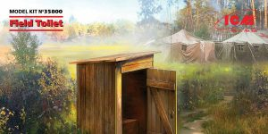 Field Toilet in 1:35 von ICM #35800