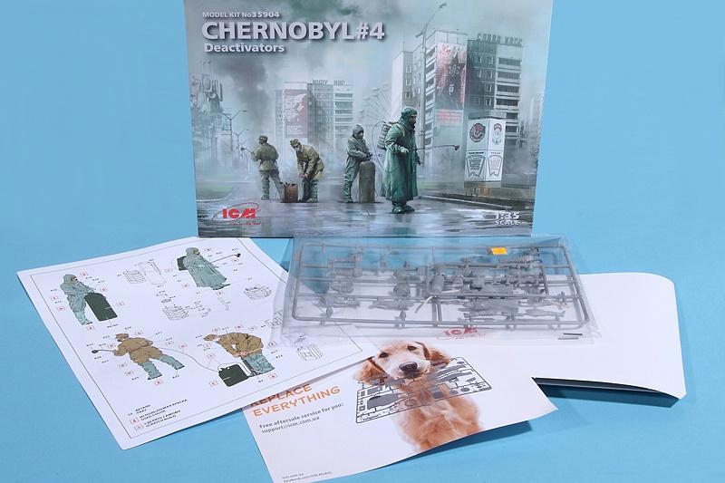 ICM-35904-Chernobyl-4-Deactivators-2 Chernobyl 4: Deactivators in 1:35 von ICM #35904