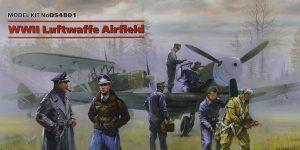 WW II Luftwaffe Airfield Set in 1:48 von ICM #DS 4801