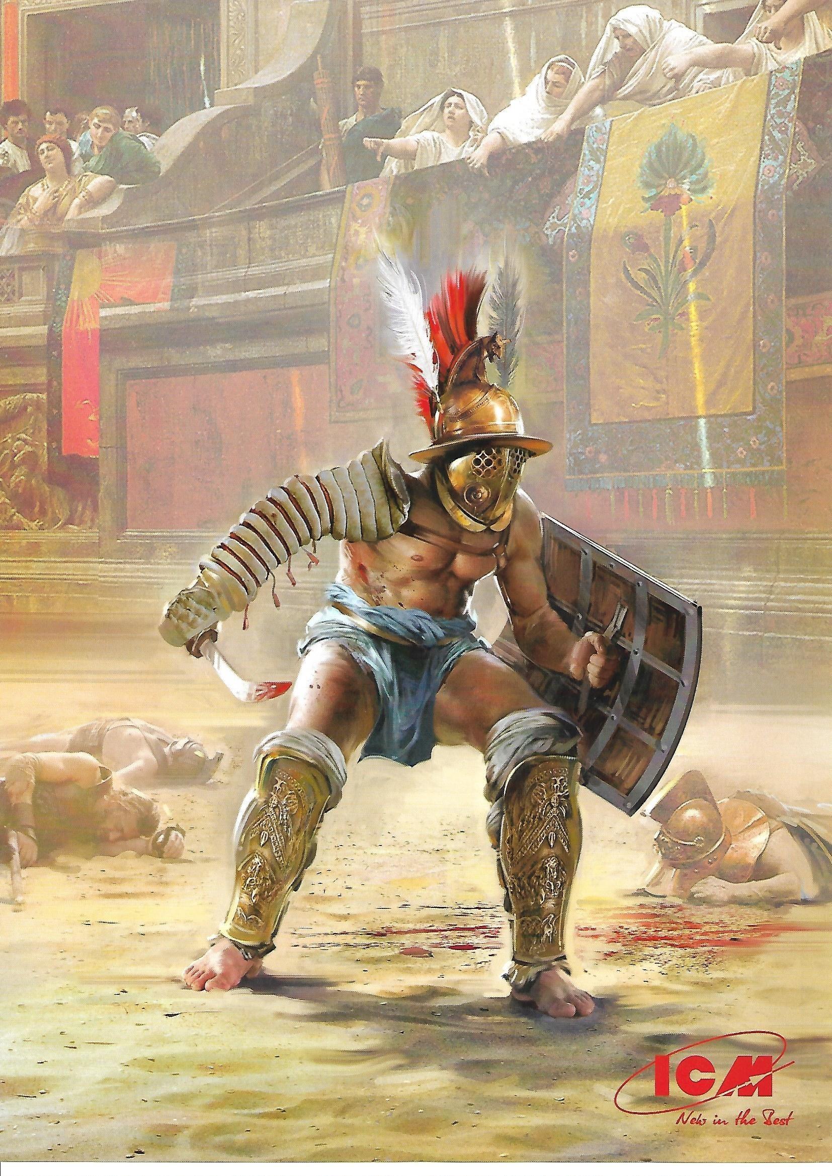 ICM_Gladiator09 Roman Gladiator in 1:16 von ICM