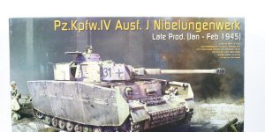 Pz.Kpfw.IV Ausf.J Nibelungenwerk Late Prod. (Jan. – Feb. 1945) 1:35 Miniart (#35342)