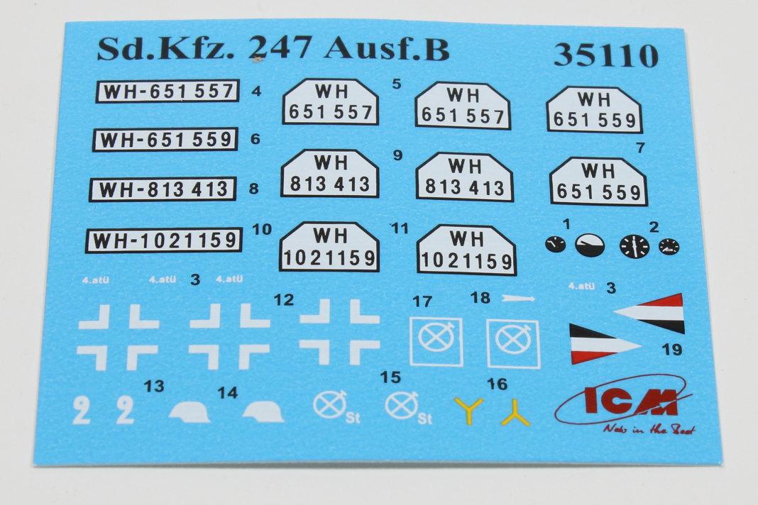 IMG_0036 Sd.Kfz.247 Ausf.B 1:35 ICM (#35110)