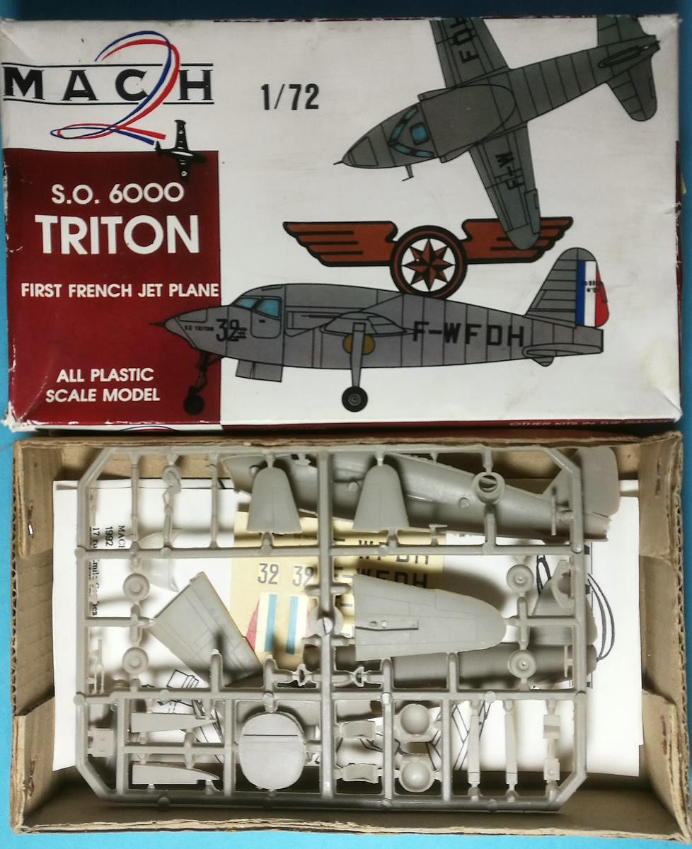 MACH-2-SO-6000-Triton-14 Kit-Archäologie: S.O. 6000 Triton in 1:72 von MACH 2