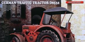 German Traffic Tractor Lanz D 8532 in 1:35 von MiniArt #38041