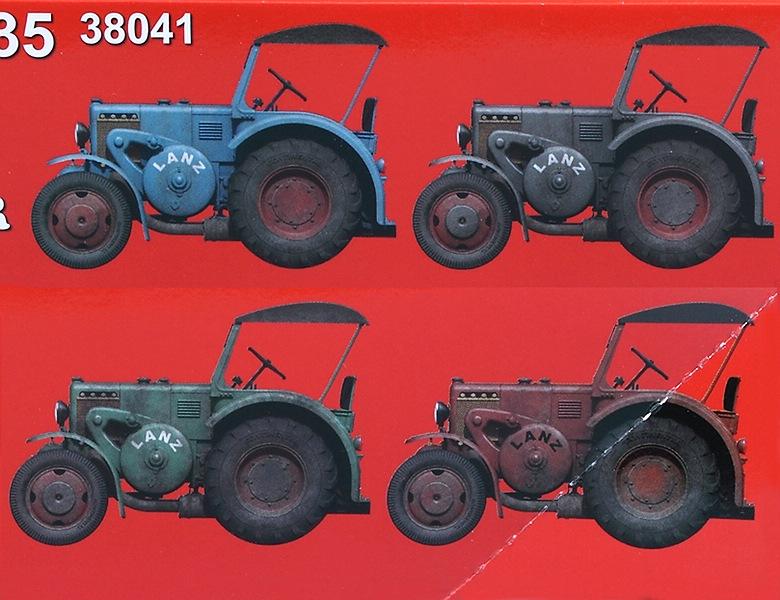 MiniArt-38041-German-Traffic-Tractor-Lanz-D-8532-3 German Traffic Tractor Lanz D 8532 in 1:35 von MiniArt #38041