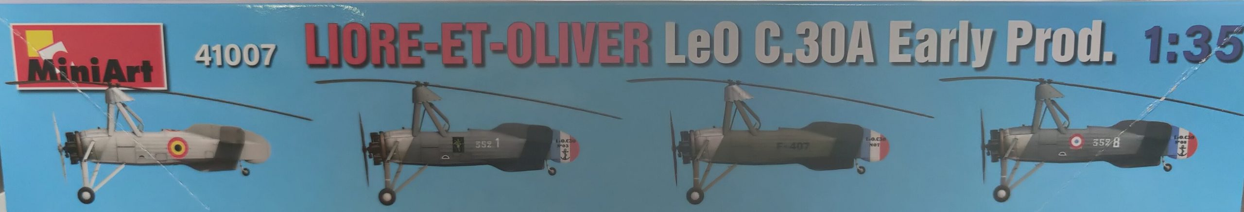 MiniartLeoC30A02-scaled Liore-et-Oliver LeO C.30A Early Prod. in 1:35 von Miniart # 41007