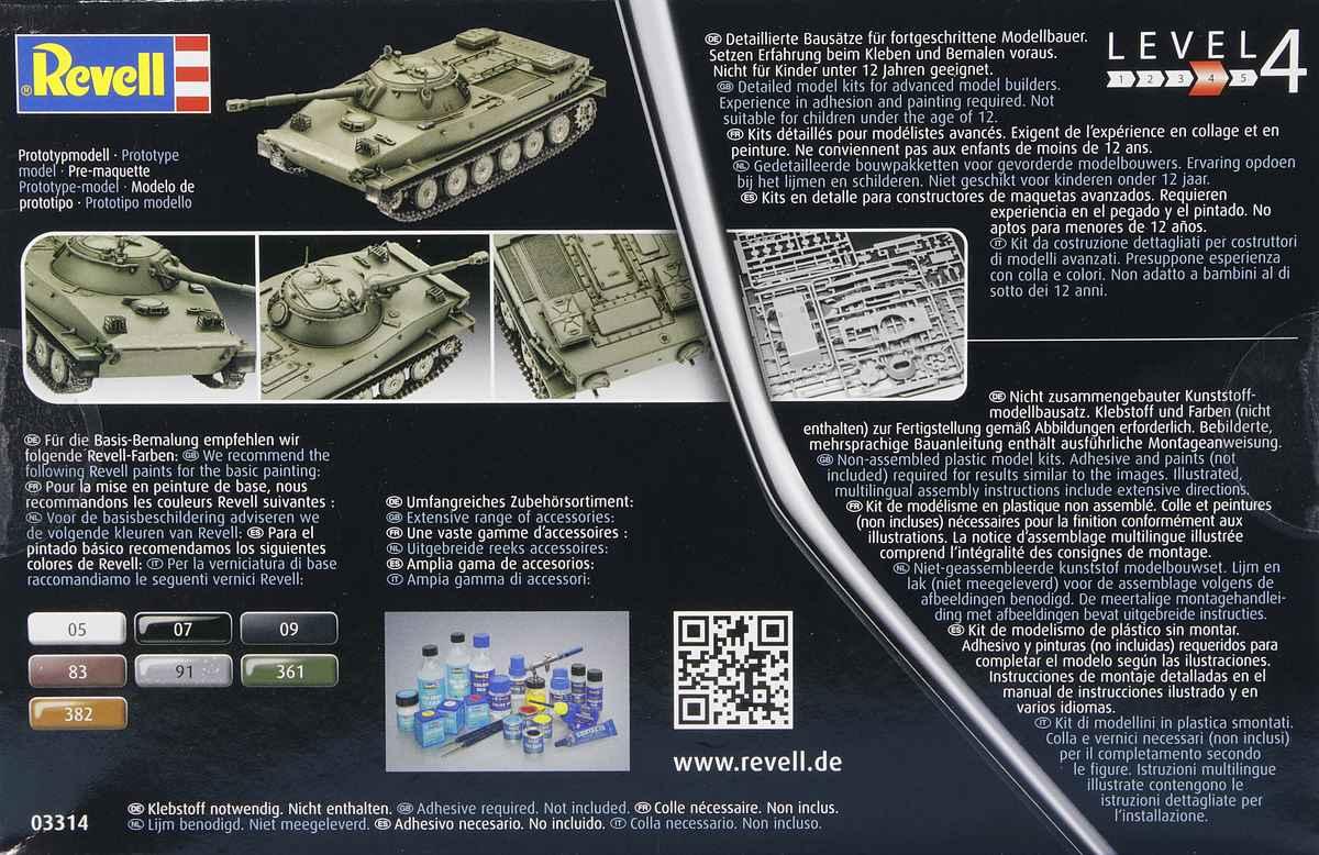 Revell-03314-PT-76B-2 Poseidons Panzer - Revells 1:72er PT-76B #03314