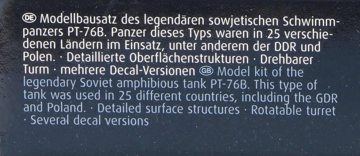 Revell-03314-PT-76B-3 Poseidons Panzer - Revells 1:72er PT-76B #03314