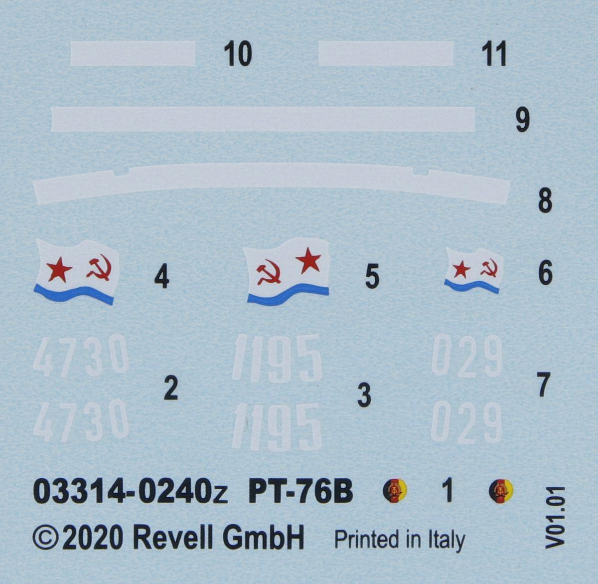 Revell-03314-PT-76B-38 Poseidons Panzer - Revells 1:72er PT-76B #03314