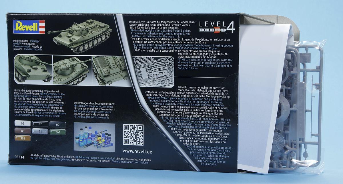 Revell-03314-PT-76B-39 Poseidons Panzer - Revells 1:72er PT-76B #03314