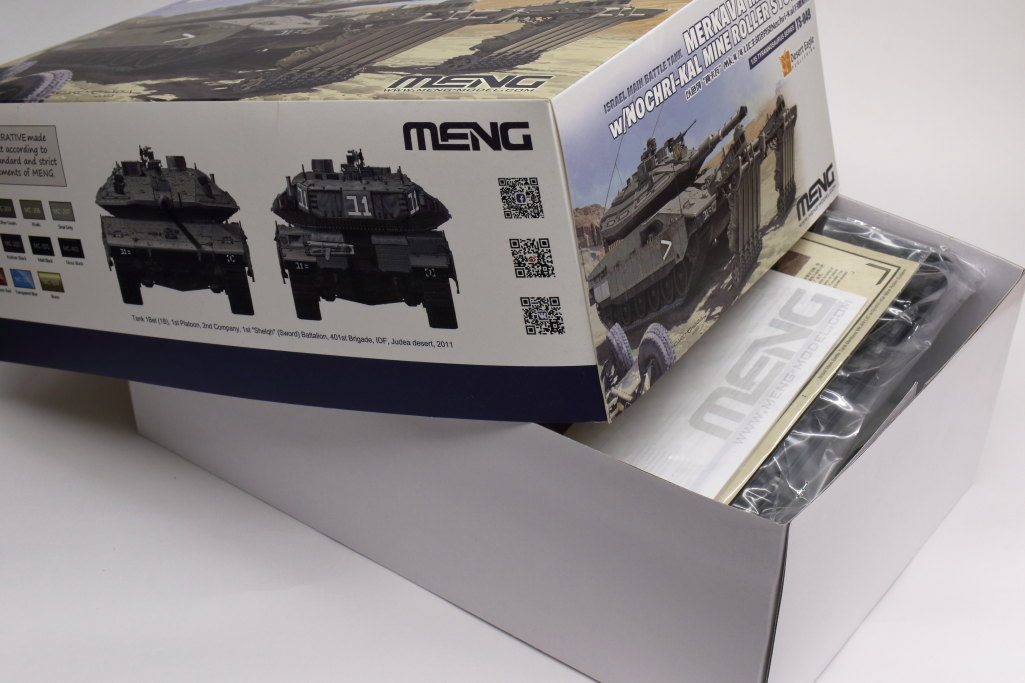 Review_Meng_Merkava_4_002 Merkava Mk.4/4 LIC with NOCHRI-KAL mine roller system - Meng 1/35