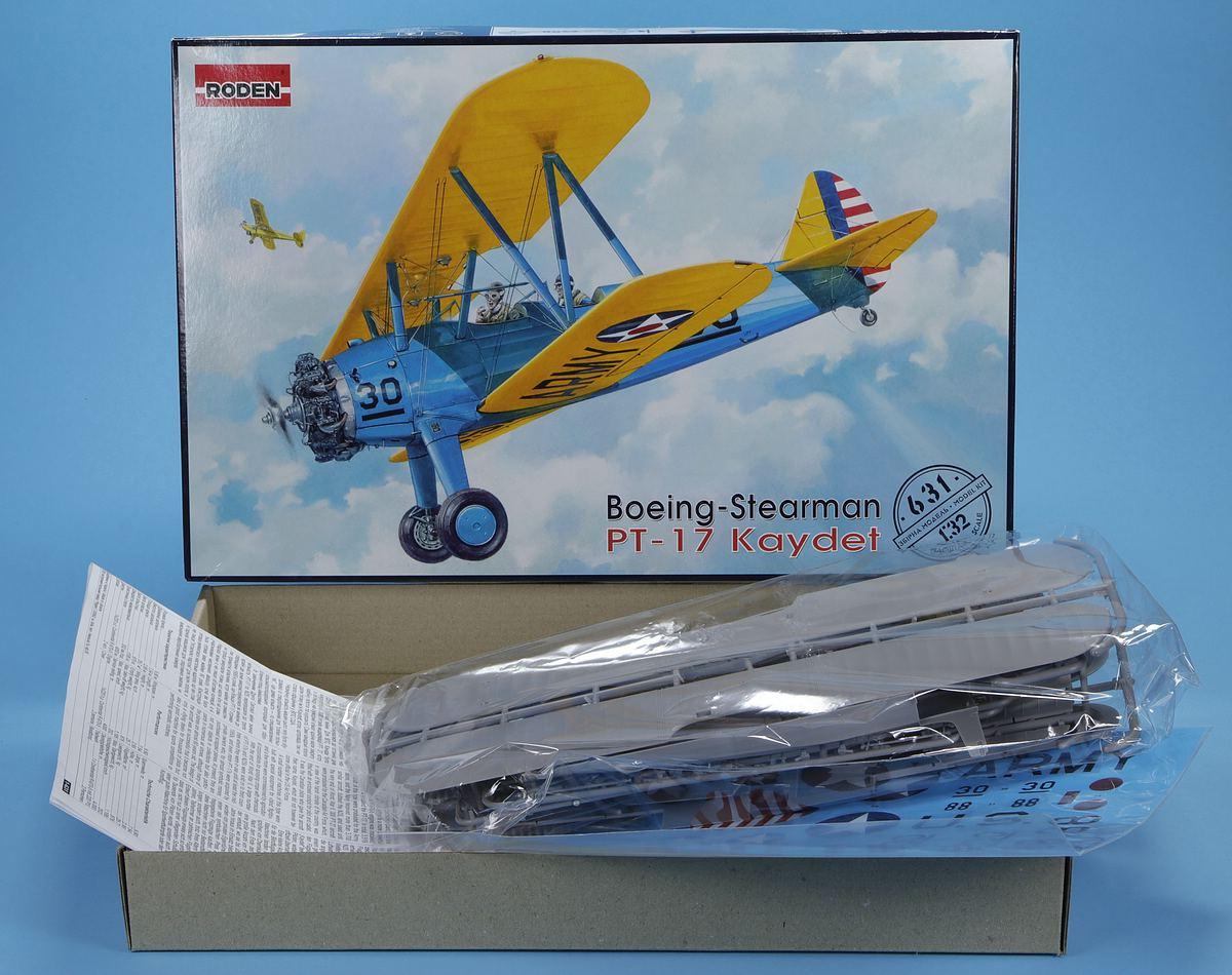 Roden-631-Boeing-Stearman-PT-17-Kaydet-33 Boeing-Stearman PT-17 Kaydet in 1:32 von Roden #631