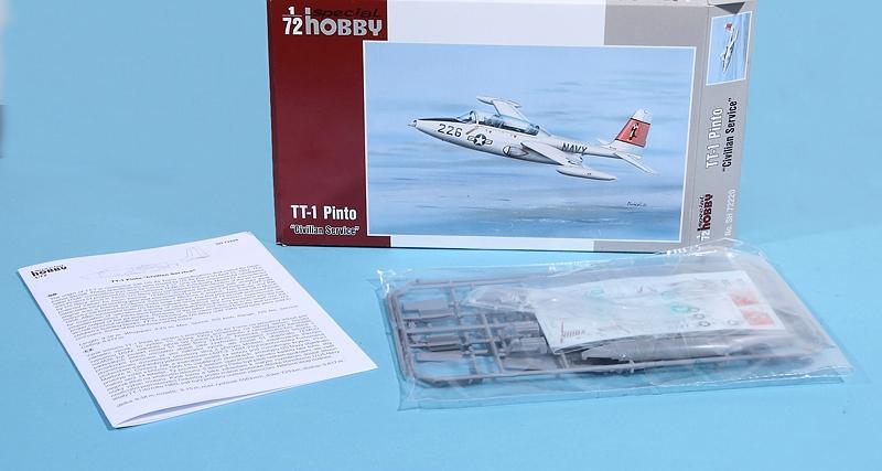Special-Hobby-SH-72220-TT-1-Pinto-in-Civilian-Service-2 TT-1 Pinto Civilian Service in 1:72 von Special Hobby #SH 72220
